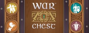 War Chest board game logo cropped AEG Alderac Entertainment Group Nights Around a Table