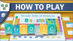 Nights Around a Table How to Play Periodic board game about the periodic table of elements video thumbnail