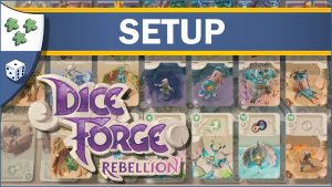Nights Around a Table Dice Forge: Rebellion board game expansion setup guide video thumbnail