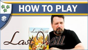 Nights Around a Table Last Will board game How to Play video thumbnail