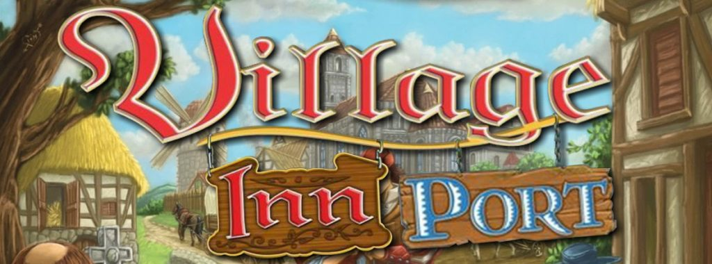 Nights Around a Table Village: Inn and Village: Port board game cover shot