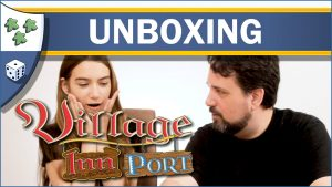 Nights Around a Table Village: Inn and Village: Port board game unboxing video thumbnail