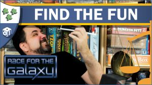 Nights Around a Table Race for the Galaxy Find the Fun board game review thumbnail YouTube