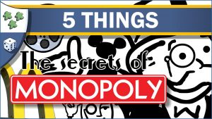 Nights Around a Table 5 Things You Didn't Know About Monopoly board game by Hasbro YouTube video thumbnail