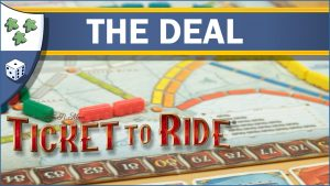 Nights Around a Table Ticket to Ride: The Deal board game by Days of Wonder YouTube video thumbnail