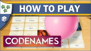 Nights Around a Table How to Play Codenames board game YouTube video thumbnail