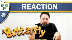 Nights Around a Table Butterfly board game unboxing reaction video thumbnail