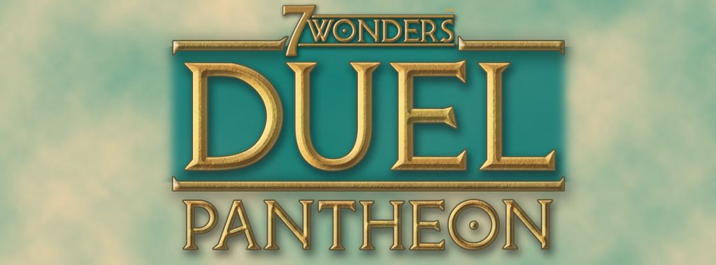 Nights Around a Table 7 Wonders Duel: Pantheon board game expansion title 16:9