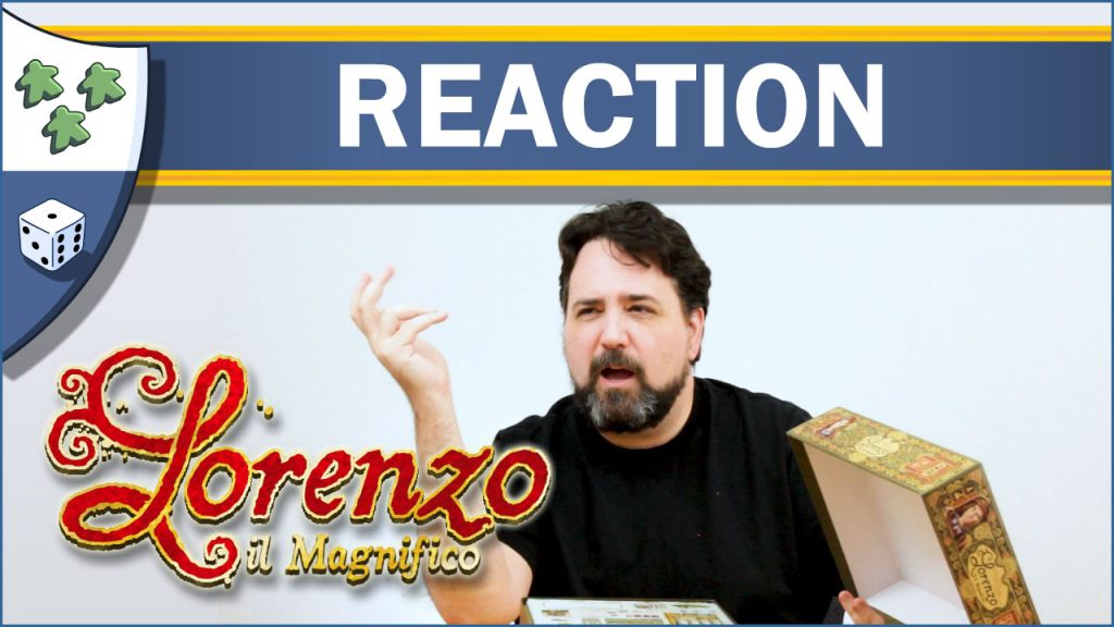 Nights Around a Table Lorenzo il Magnifico unboxing reaction video thumbnail