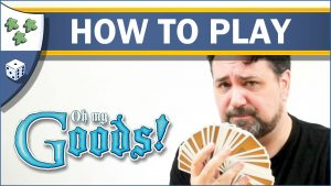 Nights Around a Table Oh My Goods! card game How to Play video thumbnail