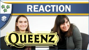 Nights Around a Table Queenz family-friendly beekeeping board game unboxing reaction video thumbnail
