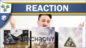 Nights Around a Table - Anachrony Essential Edition Exosuit Miniatures Classic Expansion board game unboxing reaction video thumbnail