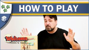 Nights Around a Table - How to Play Welcome To... board game video thumbnail