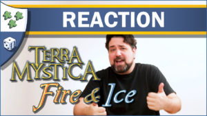 Nights Around a Table - Terra Mystica: Fire & Ice board game unboxing reaction video thumbnail