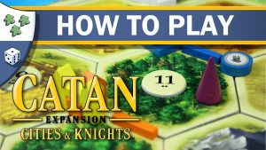 Nights Around a Table How to Play Catan: Cities & Knights board game video thumbnail
