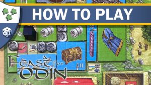 Nights Around a Table - How to Play A Feast for Odin Viking board game video thumbnail