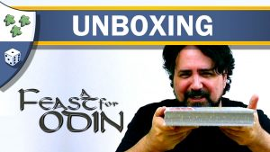 Nights Around a Table - A Feast for Odin board game video unboxing reaction thumbnail