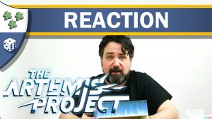 Nights Around a Table - The Artemis Project board game video unboxing reaction thumbnail