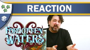 Nights Around a Table - Forgotten Waters board game thumbnail video unboxing reaction
