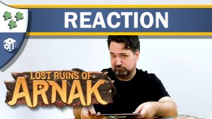 Nights Around a Table - Lost Ruins of Arnak board game video unboxing reaction thumbnail