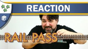 Nights Around a Table - Rail Pass board game unboxing reaction video thumbnail