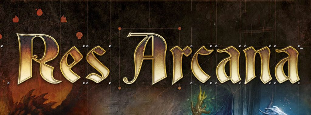 Nights Around a Table - Res Arcana board game box shot