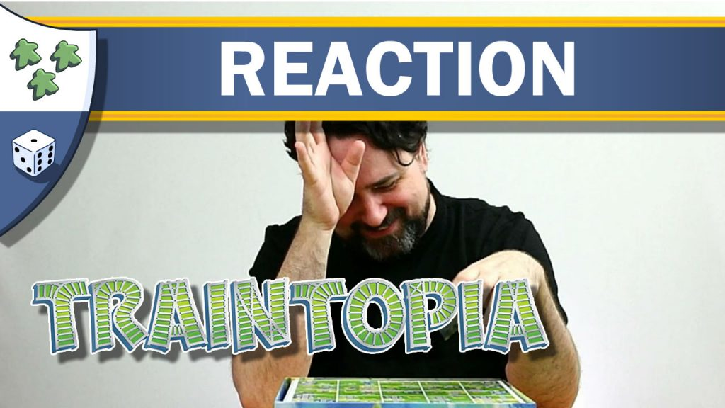 Nights Around a Table - Traintopia board game unboxing reaction video thumbnail