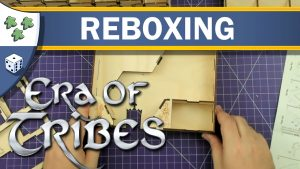 Nights Around a Table - Era of Tribes Laserox insert board game reboxing video thumbnail
