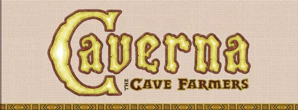Nights Around a Table - Cavrna: The Cave Farmers board game title image cropped