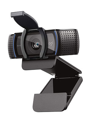 Logitech C920S HD Pro Webcam with Privacy Shutter - Widescreen Video Calling and Recording, 1080p Streaming Camera