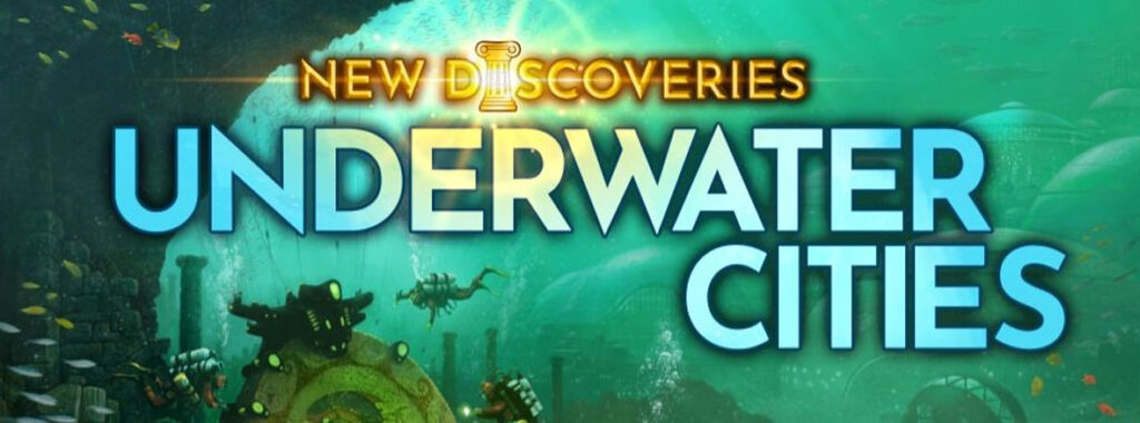 Nights Around a Table - Underwater Cities: New Discoveries board game expansion title cropped
