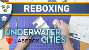 Nights Around a Table - Underwater Organizer insert by Laserox for Underwater Cities and New Discoveries