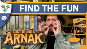 Nights Around a Table - Lost Ruins of Arnak Find the Fun board game review video thumbnail