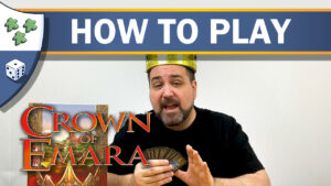 Nights Around a Table - How to Play Crown of Emara board game video thumbnail