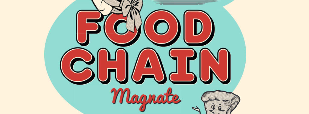Nights Around a Table - Food Chain Magnate board game title cropped