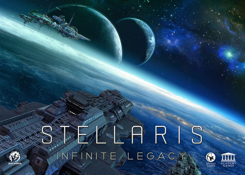 Nights Around a Table: Stellaris: Infinite Legacy board game cover