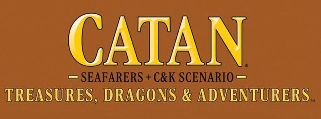 Nights Around a Table - Catan Treasures, Dragons, and Adventurers 16x9 cropped board game cover