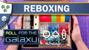 Nights Around a Table - Roll for the Galaxy Reboxing featuring Laserox