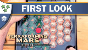 Nights Around a Table - Terraforming Mars Big Box first look unboxing/reboxing video thumbnail