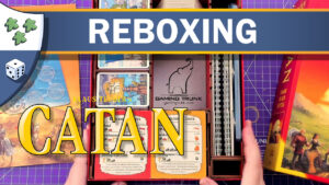 Nights Around a Table - Catan reboxing featuring Gaming Trunk video thumbnail