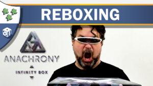 Nights Around a Table Anachrony Infinity Box reboxing