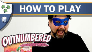 Nights Around a Table - Outnumbered! Improbable Heroes board game how to play video thumbnail