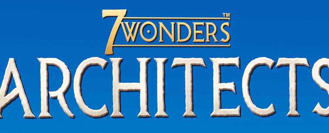 7 Wonders Architects playthru
