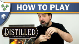 Nights Around a Table - How to Play Distilled board game video thumbnail