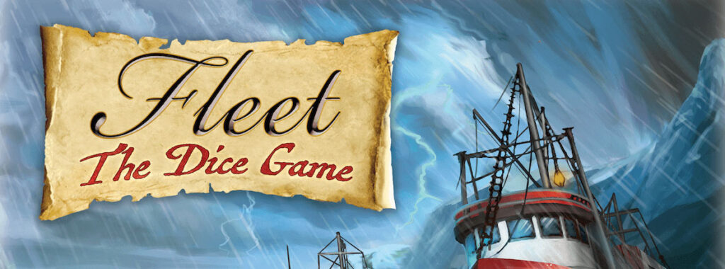 Nights Around a Table - Fleet: The Dice Game board game cover cropped